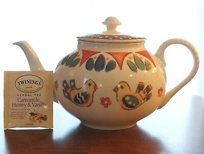 "Franciscan ""Sierra"" Teapot - Made in England under Waterford Wedgwood plc *MINT*"