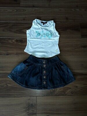 Girls Ted Baker Skirt &Top, 3yrs