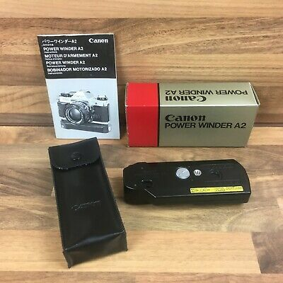 Genuine Canon Power Winder A2 For Canon A series 35mm Film Cameras Boxed