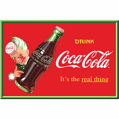 Original Coke Real water decal new old stock C@@L #2 stock#250