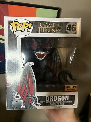 *IN HAND* Funko Pop! Game of Thrones 6 Inch Drogon #46 Hot Topic Exclusive