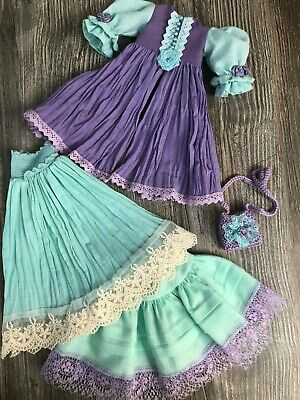 Outfit for Little Darling Dianna Effner Kaye Wiggs MSD Paola Reina Meadow dolls
