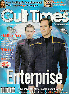 CULT TIMES Magazine January 2002 - Enterprise (Issue 76)
