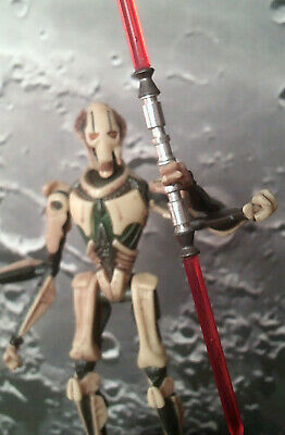 Darth Zannah/Nk-Necrosis Red Double-Blade Lightsaber/General Grievous/Star Wars