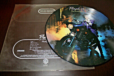 "PRINCE AND THE REVOLUTION Purple Rain OST 1984 MEXICO ONLY PICTURE DISC 12"" LP"