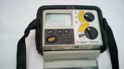 Megger RCDT320 RCD Tester no probes or accessories