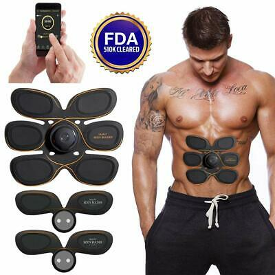 Wireless Rechargeable Muscle Toner,Gympad Abs Trainer EMS Muscle Toning Fitness