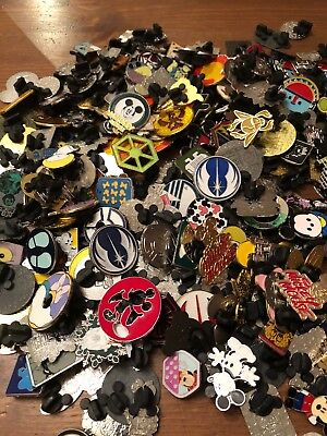 30 Mixed Disney Pins & 2 Lanyards Starter Sets For Trading In The Parks REDUCED!