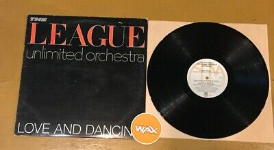 The League Unlimited Orchestra - Love And Dancing (1982) Electro G+ Vinyl Record