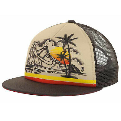 Nike Hawaii Sunset Skate SB Dunk High Hi Sneaker Shoe Trucker Snapback Cap Hat