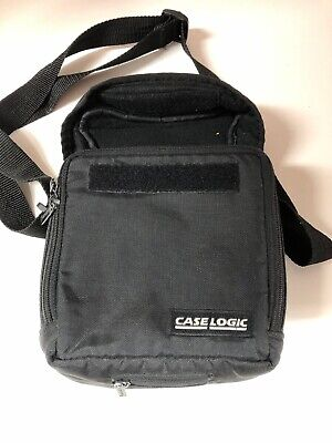 Vintage CASE LOGIC Portable CD Player Holder For CD Walkman CDs Bag Case