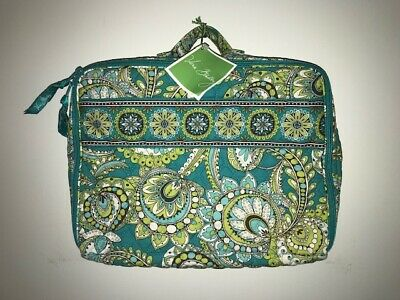 New with Tags Vera Bradley Peacock Travel Bag Paisley Made in the USA
