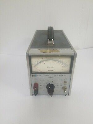 HP 400GL AC voltmeter RMS for part or repair