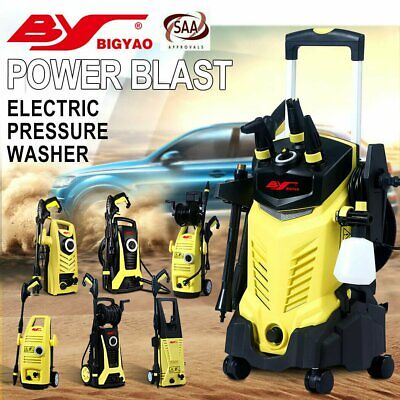 2900-3800 PSI High Pressure Washer Cleaner Electric Water Gurney Pump Hose BY
