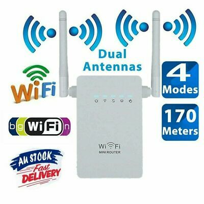 Dual-Band Wifi Extender Repeater Wireless Router Range Network Signal Booster PP