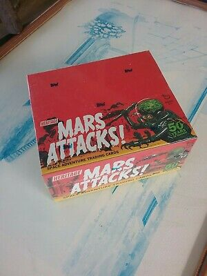 2012 Mars Attacks Heritage Topps Factory Sealed Box