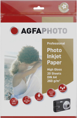 AgfaPhoto Professional Photo Paper 260 g A 4 20 Sheets NEW