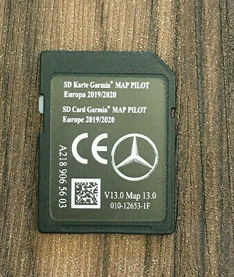 Mercedes - BENZ SD Card Garmin Map Pilot V13 2019 EUROPA A2189065603 NEU