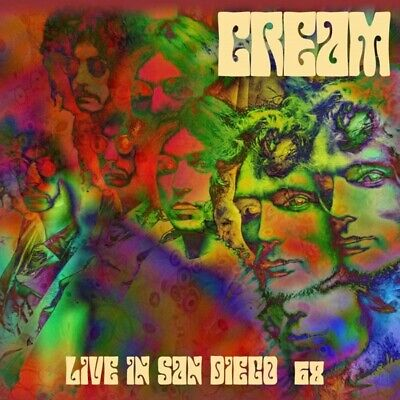 Cream - Live In San Diego 68 CD London Calling NEW