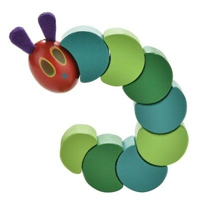 Twist The Very Hungry Caterpillar Toy Wooden Blocks for Baby Fingers