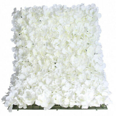 Rose And Hydrangea Ivory white Flower Wall Tile 60cms X 40cms