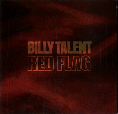 "Billy Talent Red Flag CD single (CD5 / 5"") UK promo PRO15996 ATLANTIC 2006"