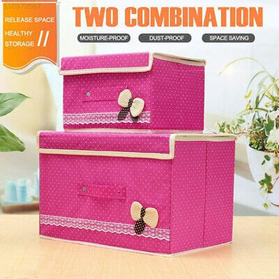 179C Non-Woven Fabrics Storage Box Container Case Household Receive Office