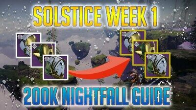 DESTINY 2 NIGHTFALL Specific Loot Farming Services {Read Description