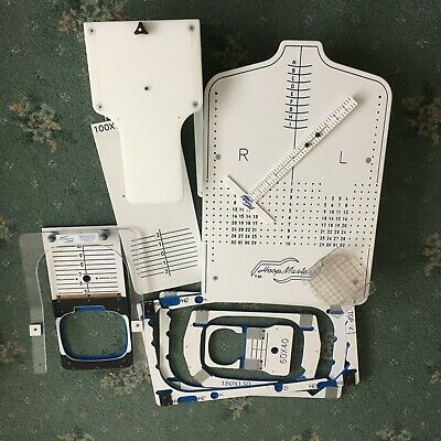 Hoopmaster - embroidery machine hoops & placement tools