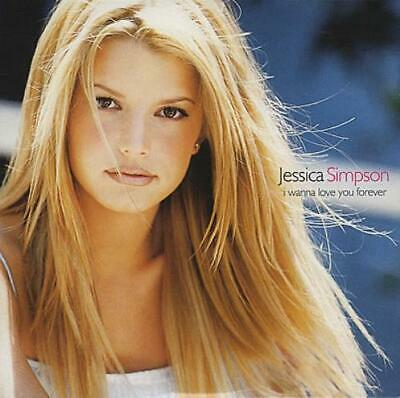 "I Wanna Love You Forever Jessica Simpson UK CD single (CD5 / 5"") promo"