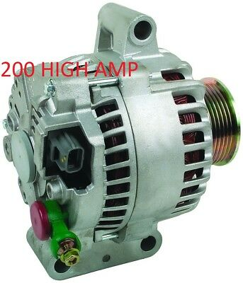 NEW HIGH AMP Ford F Pickup DIESEL Alternator 04-05 6.0L Diesel E Van 6.0 2004 08
