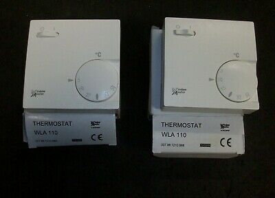 2 Window master room thermostat WLA 110 , 007881210888  new old stock