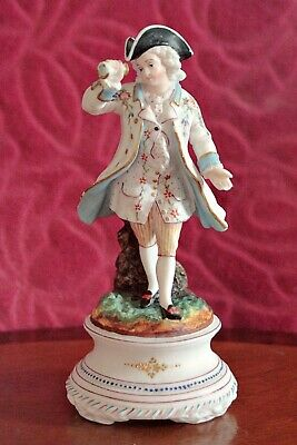 Antique Rare German Porcelain Figurine, 19th Century