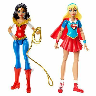 DC Super Hero Girls Poseable Small Action Figure Doll With Detachable Accessory