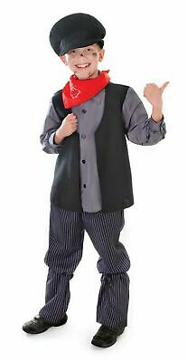 Boys Victorian Book Day Chimney Sweep Bert Urchin Fancy Dress Costume New