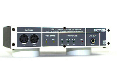 RME MULTIFACE Hammerfall DSP Quality Digital Audio Interface + OVP + /GEWÄHR/