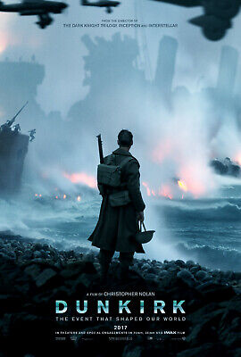 DUNKIRK Movie  Poster Print A5..A4...or A3 option 260gsm