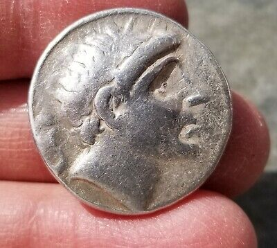 "NGC Greek/Seleucid Silver Tetradrachm, ANTIOCHUS II, 3rd Century BC, ""VERY GOOD"""