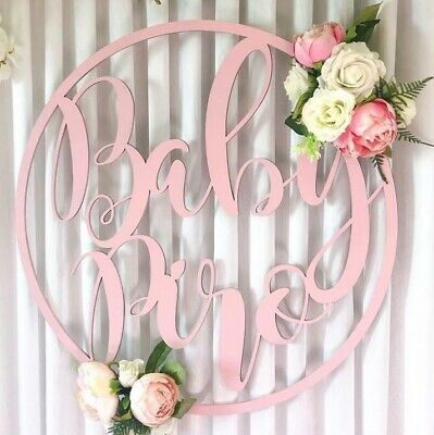 Large Name Hoop, Any Wording, Wedding Wall Hanging Decor Sign Plaque
