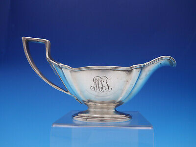 Plymouth by Gorham Sterling Silver Gravy Boat #A2801 with monogram (#3618)
