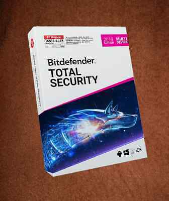 Bitdefender Total Security 5Pc 1 Jahr Neu 2019 Version - Key Version
