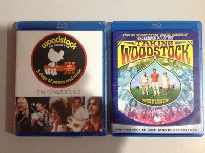 WOODSTOCK the 3 Day Festival + Taking Woodstock Movie(Blu-Ray)New. Read Details.