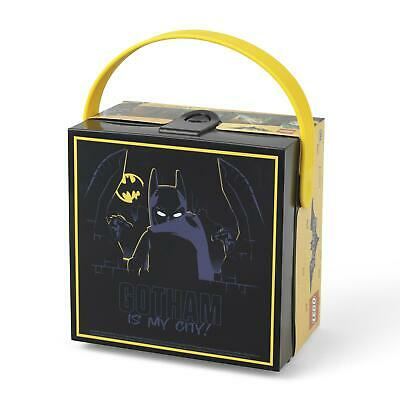 Lego Batman Kids Lunch Box With Rubber Handle & Clip Fastening School Accessory