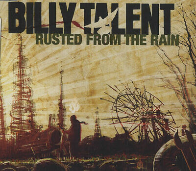 "Billy Talent Rusted From The Rain UK CD single (CD5 / 5"") promo PR017278"