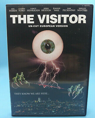 The Visitor Un-Cut European version, DVD, US Code Red release