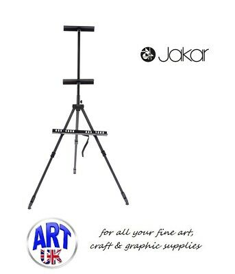 Jakar Aluminium Artists Watercolour Painting Field Easel With Carry Case - 6627