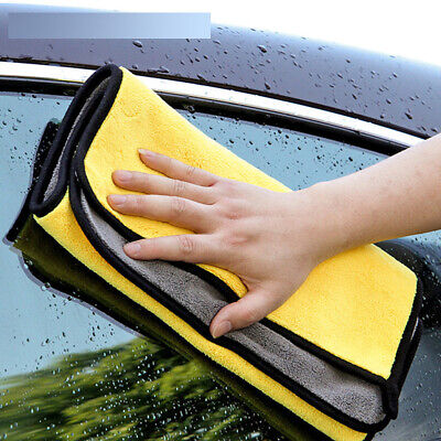 Car Wash Towel Microfiber Washing Drying Strong Thick Cleaning Cloth