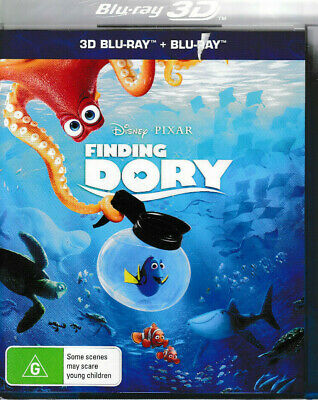 Finding Dory - 3D Blu Ray + Blu Ray - Brand New & Sealed