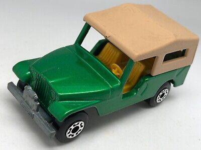 Matchbox Lesney Superfast No 53 CJ6 Vert Métallique Jeep - Vnm