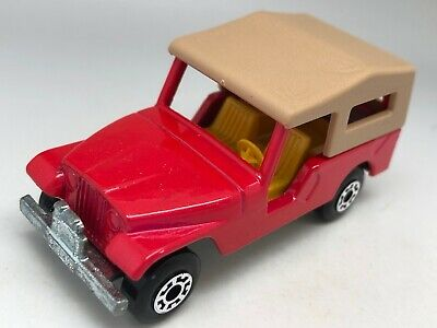Matchbox Lesney Superfast No 53 CJ6 Rouge Jeep - Vnm